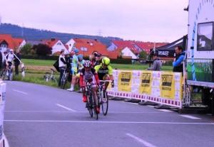 Otto sprintet in Baiersdorf