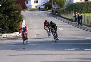 Stefan beim Sprint im Wilflingen