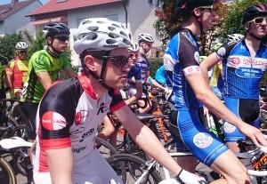 Matthias konzentriert vor dem Start in Eglosheim