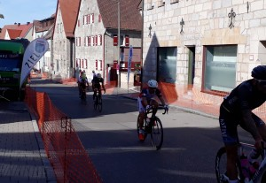 Stefan beim Kriterium in Altdorf