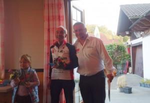 Otto wird als dritter Masters 4 Fahrer geehrt