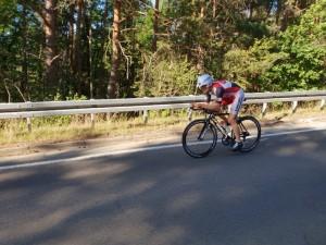 Matthias Hivner bei der dt. Meisterschaft Einzelzeitfahren